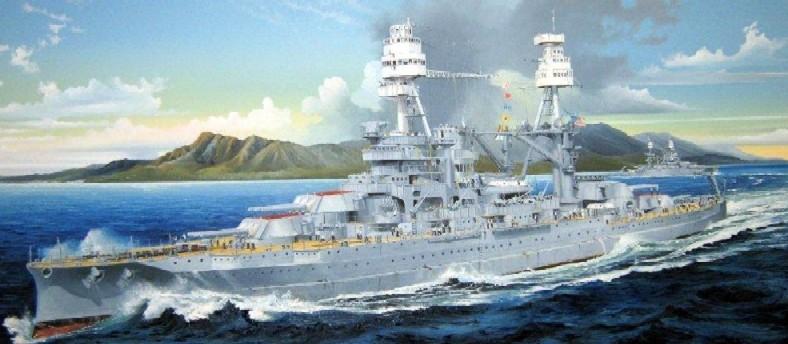 USS ARIZONA MICRO-THIN DECK
